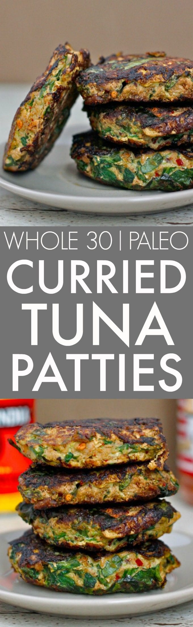 Easy and healthy tuna patties are whole30, paleo and keto friendly!