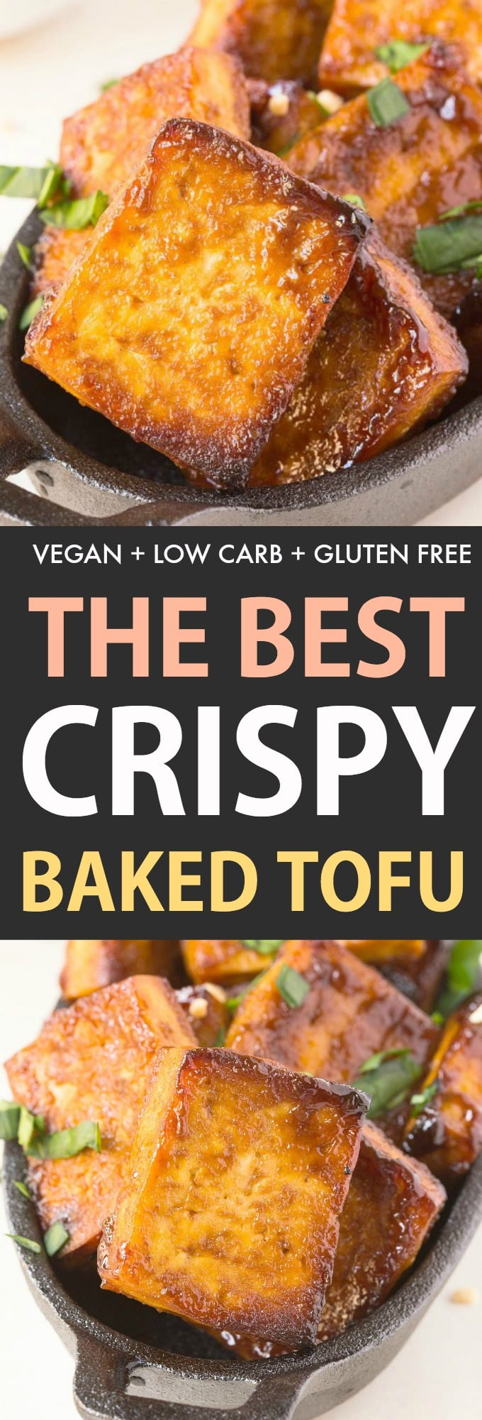 How to make the best crispy baked tofu in the oven