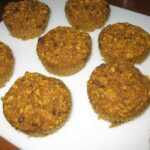 The big man cooks- Healthy pumpkin banana muffins with shaved coconut chocolate