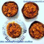The big man cooks- Pumpkin Oatmeal Breakfast Muffins