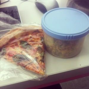 Pizza avec Pesto.