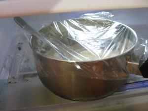 Overnight oatmeal prep