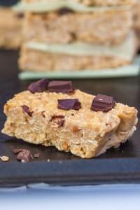 No Bake SunButter Granola Bars (Gluten Free, Vegan)- thebigmansworld.com