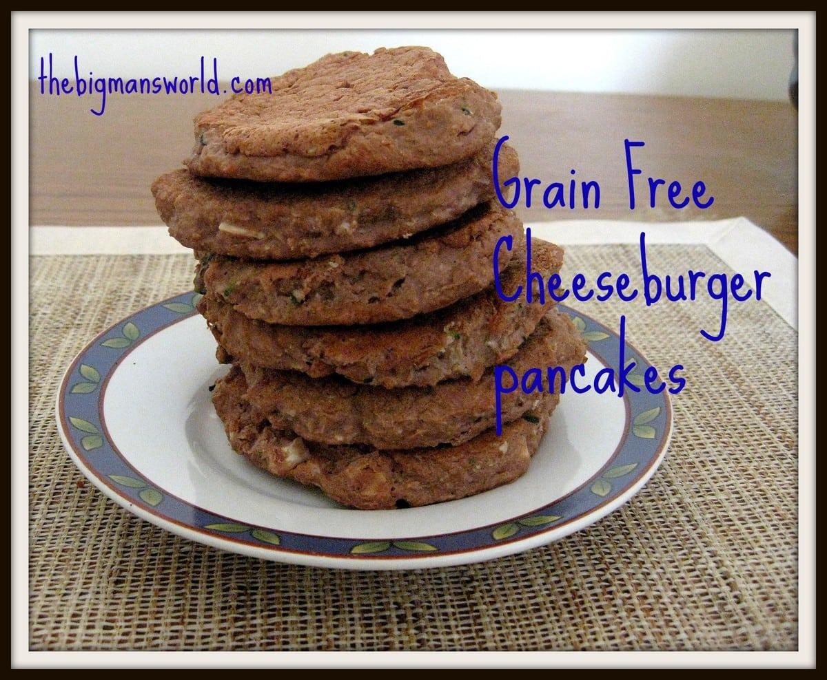 Cheeseburger Pancakes
