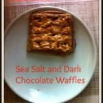 Sea Salt Dark Chocolate Waffles
