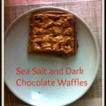 Sea Salt Dark Chocolate Waffles