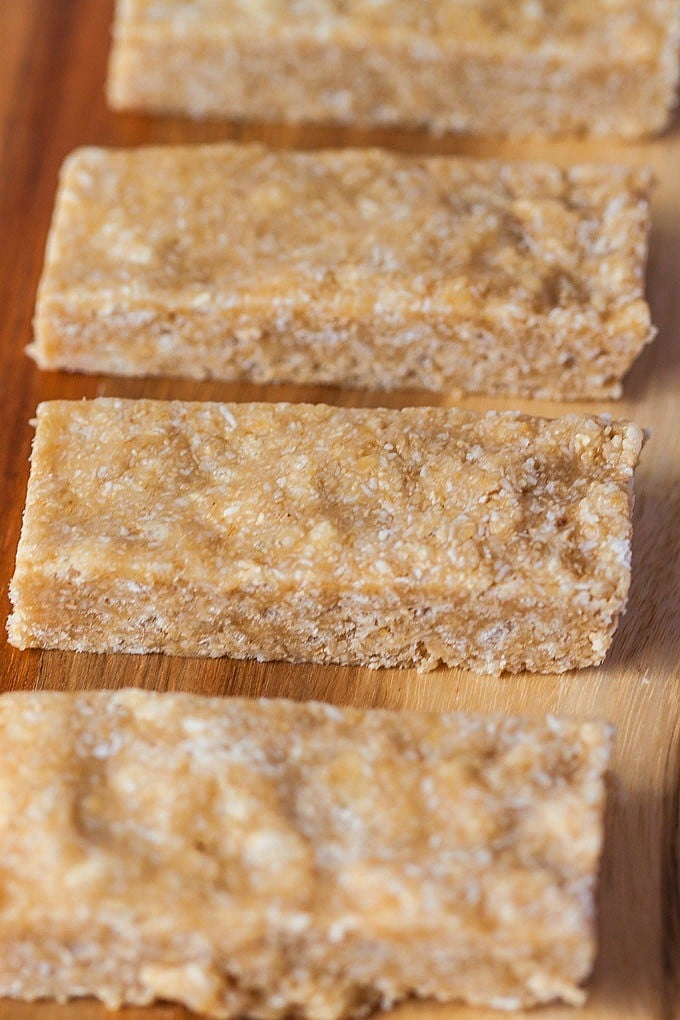 ... with these no bake sunbutter granola bars and these no bake chewy bars