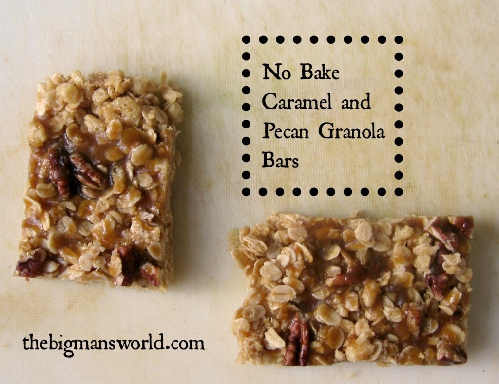 Pecan Granola Bars Recipe — Dishmaps