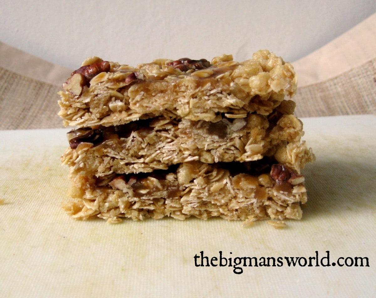 no Bake caramel pecan granola Bars.jpg.jpg2 1024x812 [WIAW] When ...
