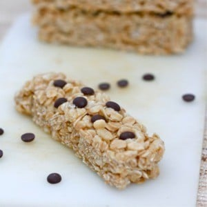 No Bake Kettle Corn Granola Bars