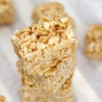 Healthy No Bake Rice Crispy Treats (Gluten Free, Vegan)- thebigmansworld.com