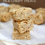 Healthy No Bake Rice Crispy Treats