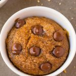 Healthy 1 Minute Pumpkin Mug Cake