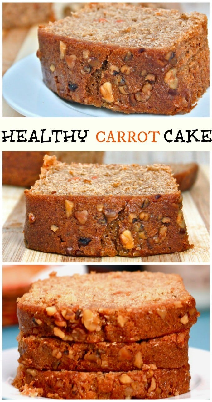 Healthy Carrot Cake Ifoodreal