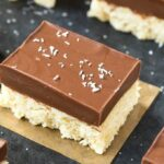 Chocolate Coconut No Bake Bars