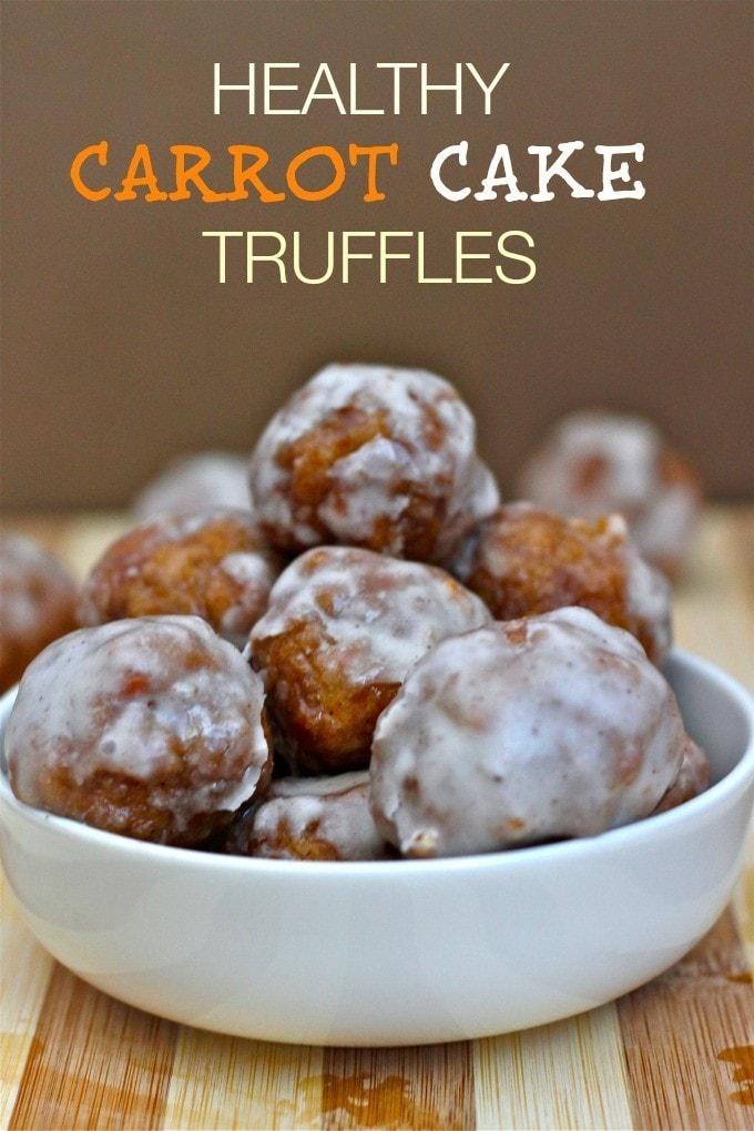 carrot Cake truffles7 Healthy Carrot Cake Truffles