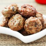 Paleo 'Thanksgiving' Meatballs