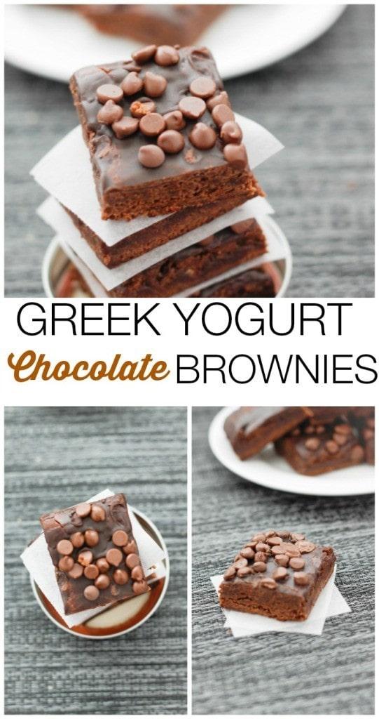 greek-yogurt-brownies-collage