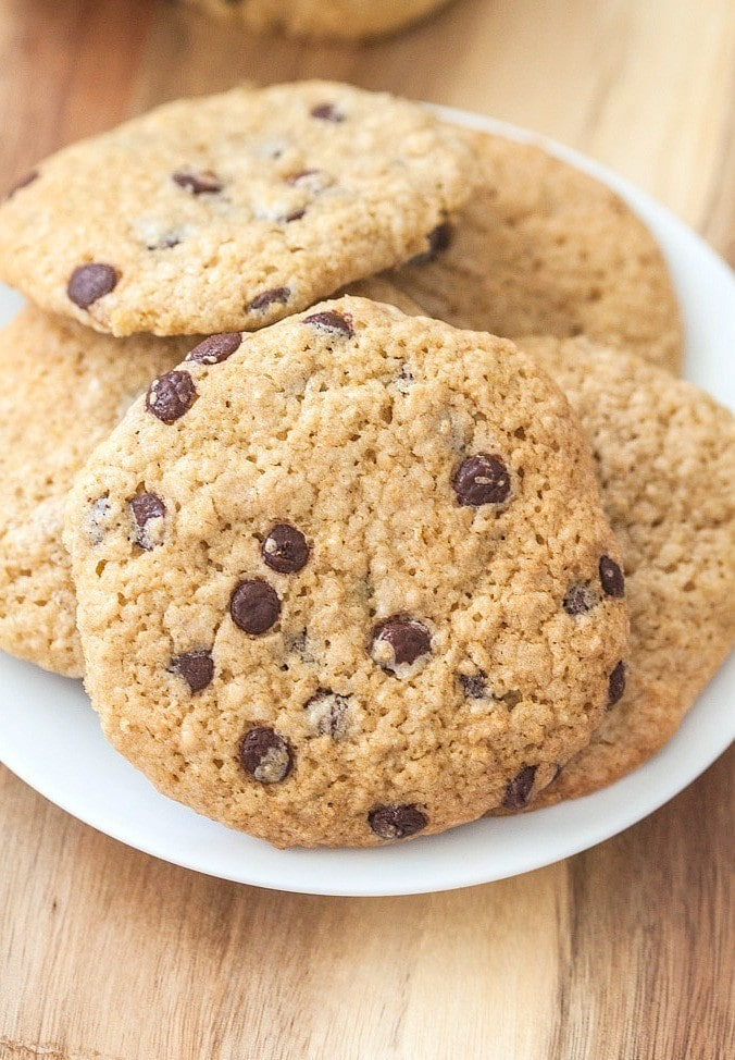 Oatmeal Chocolate Chip Breakfast Cookies- thebigmansworld.com