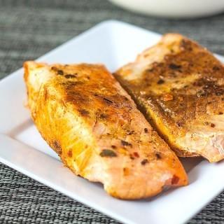 Smoked Paprika Roasted Salmon