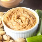 Spicy Sweet Potato and Pumpkin Dip which is #paleo #glutenfree #vegan and super simple to whip up! -thebigmansworld.com