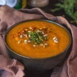 Paleo Curry Pumpkin Soup