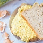Healthy Creamy Curried Egg Salad