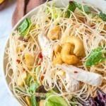 Healthy Pho Noodle Salad