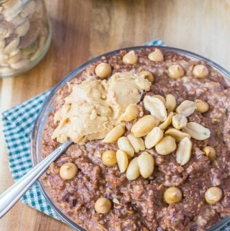 Chock full of protein (without protein powder!) gluten free and a vegan option- Start your mornings off in a sinfully nutritious way! @thebigmansworld -thebigmansworld.com
