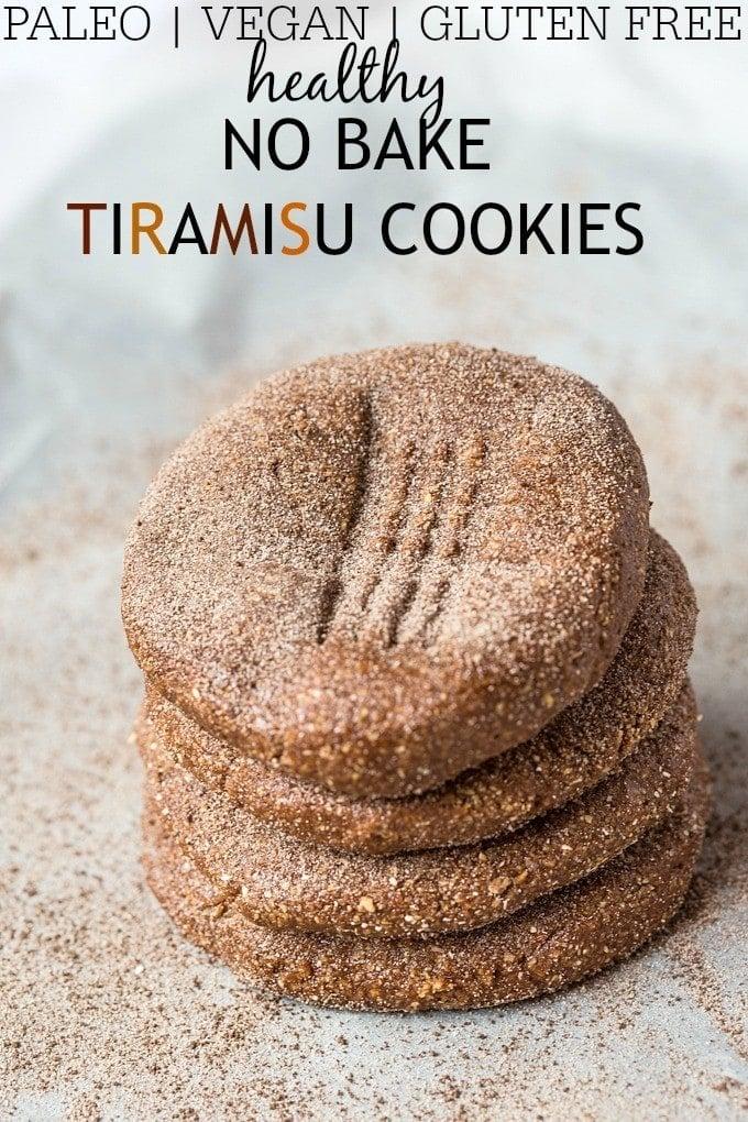 Healthy No Bake Tiramisu Cookies- Soft, chewy and just like fudge ...