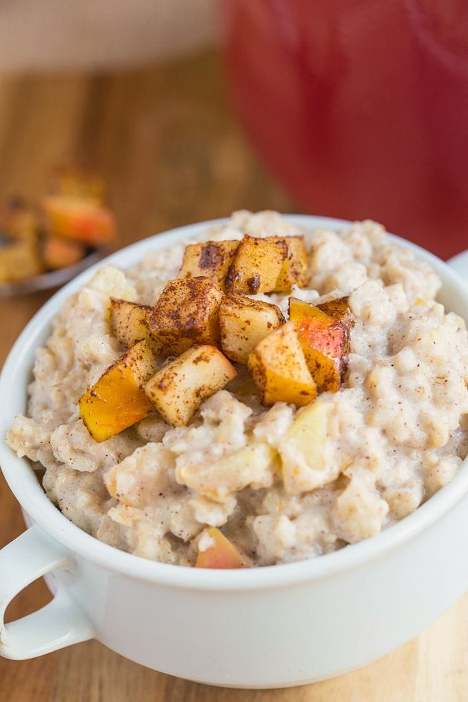 Apple Pie French Toast Oatmeal