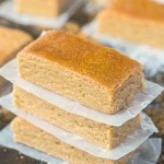 No Bake Apple Pie Protein Bars (Paleo, Vegan, Gluten Free)