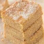 3 Ingredient No Bake Applesauce Brownies (Paleo, Vegan, Gluten Free)