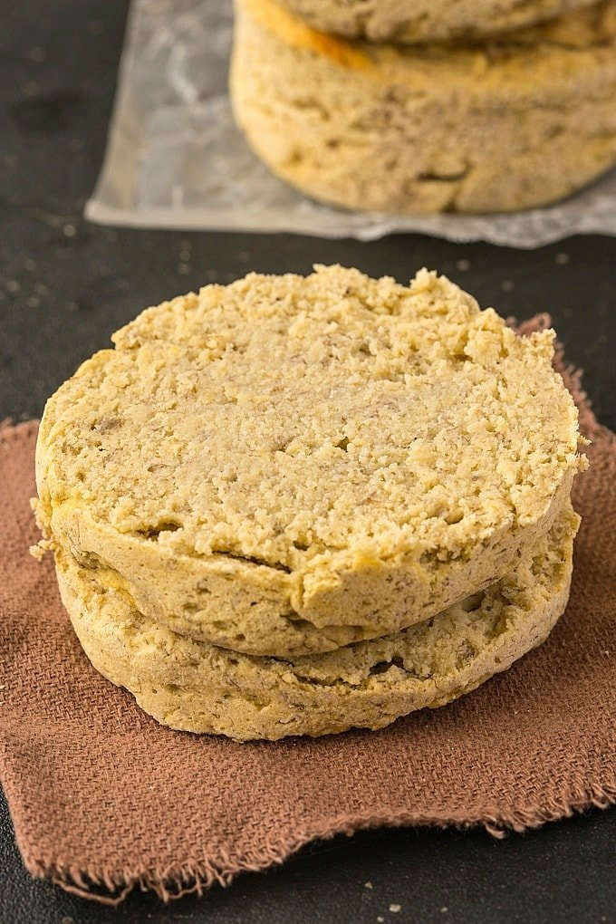 Learn how to cook an English muffin in the microwave which tastes like banana bread!
