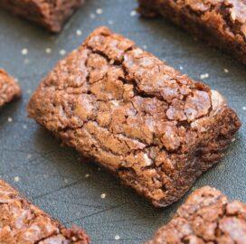 4 ingredient protein brownies