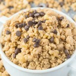 Healthy Cookie Dough Crumbles for One