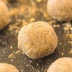 No Bake Gingerbread Latte Bites (Paleo, Vegan, Gluten Free)