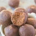 No Bake Peppermint Mocha Bites (Paleo, Vegan, Gluten Free)