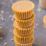Healthy 3 Ingredient Maple Almond Fudge
