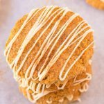 Healthy Flourless Sticky Cinnamon Bun Cookies (Vegan, Gluten Free)