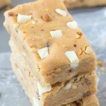 No Bake Pralines and Cream Protein Bars