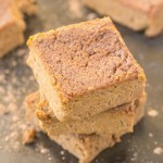 Three Ingredient Flourless Sweet Potato Blondies