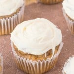 Healthy Flourless Carrot Cake Muffins