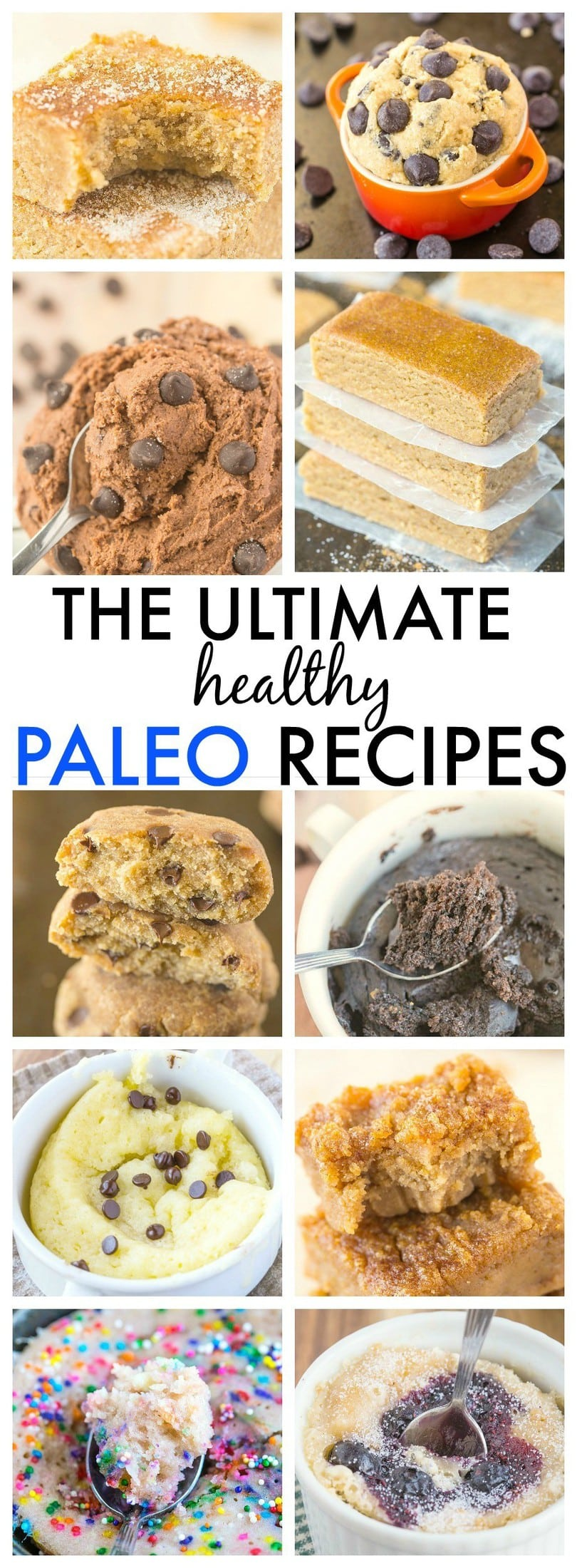 The Ultimate Healthy Paleo Recipes which taste anything but- Quick, easy and delicious! {vegan, gluten free, vegan and sugar free options}
