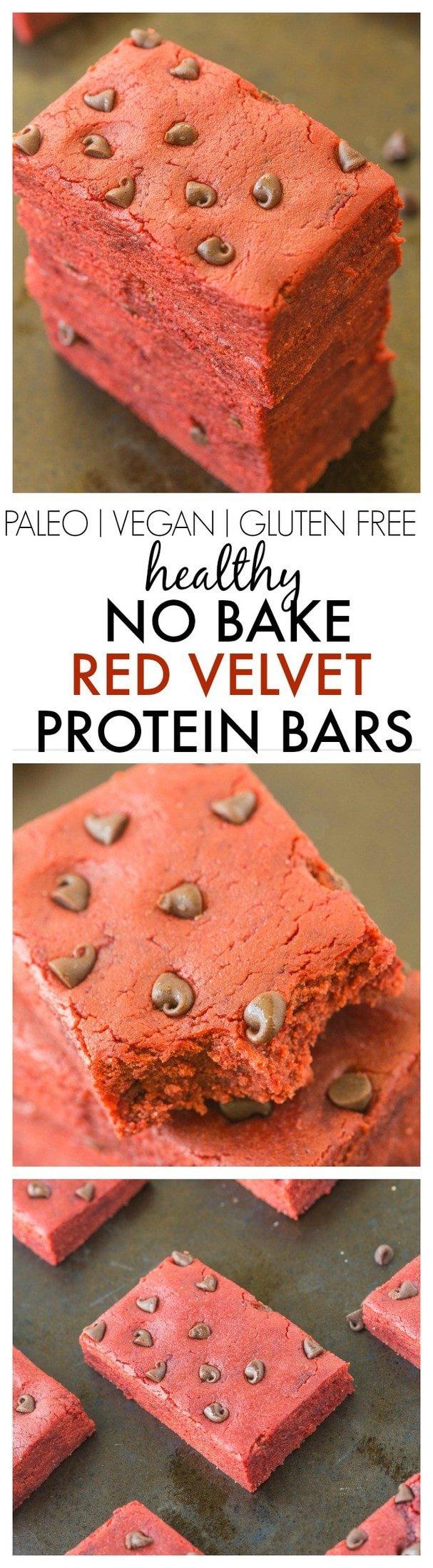 Keto Red Velvet Protein Bars