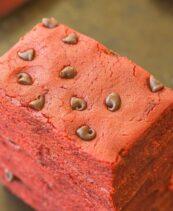 red velvet bars no bake