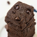 Healthy 4 Ingredient No Bake Brownies