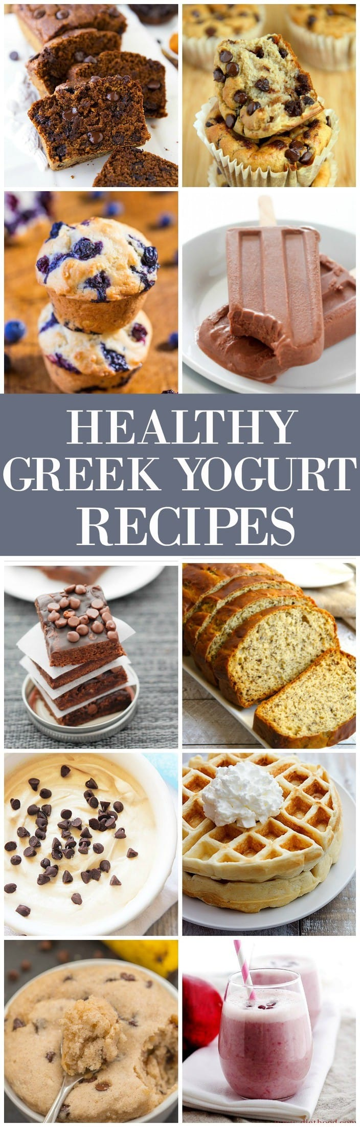 The Ultimate Healthy Greek Yogurt Recipes- You won't believe these amazing recipes contain Greek yogurt and are ridiculously healthy too! - thebigmansworld.com