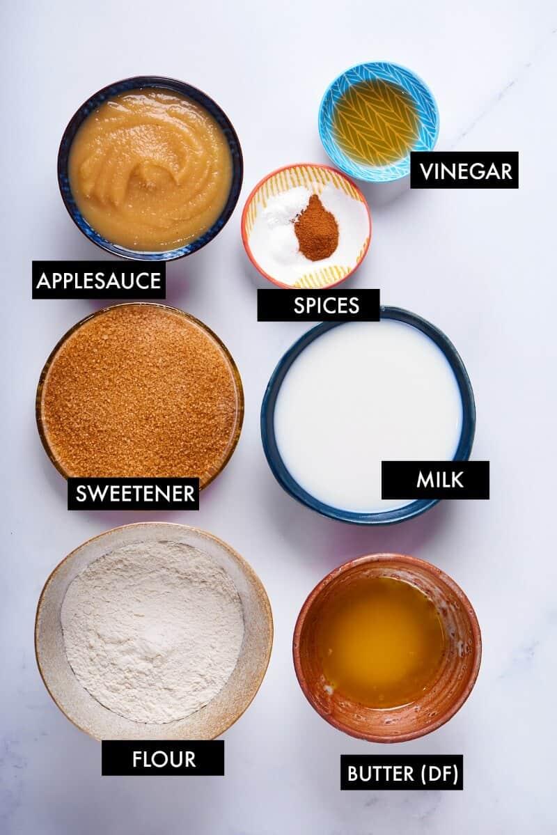 applesauce cake ingredients