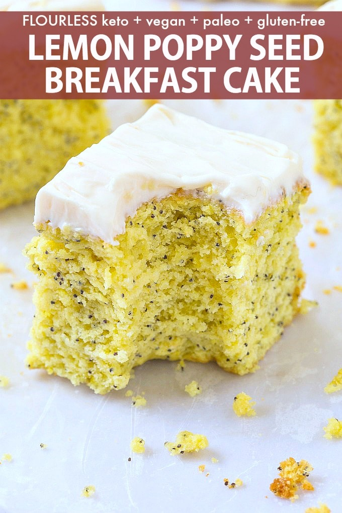 lemon poppy seed flourless cake